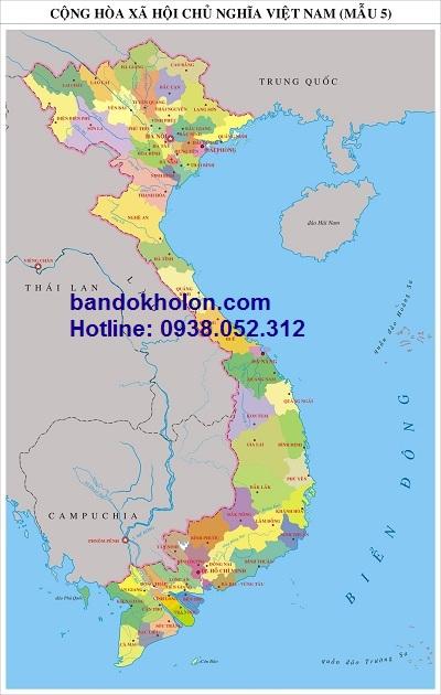 Bản đồ vùng miền Việt Nam