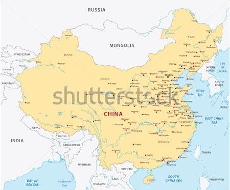 Bản đồ khổ lớn nước China