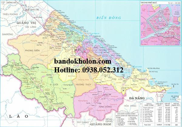 Tìm Hiểu Bản đồ Thừa Thiên Huế