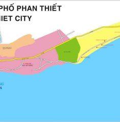 Bản đồ giao thông Phan Thiết