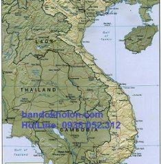 Bản Đồ Địa Hình Việt Nam Tiếng Anh