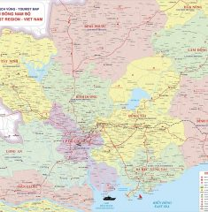 Bản đồ Đông Nam Bộ