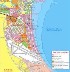 Bản đồ du lịch – giao thông Nha Trang