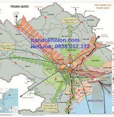Bản Đồ Quy Hoạch Xây Dựng Vùng Hà Nội Đến 2050