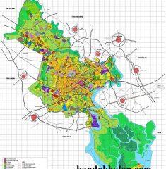 Bản đồ quy hoạch TPHCM