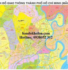 Bản đồ các tuyến Metro TPHCM