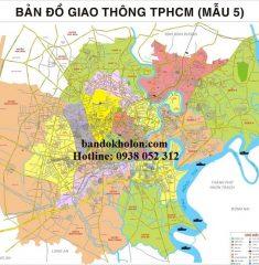 Bản đồ giao thông TPHCM (Mẫu 5)