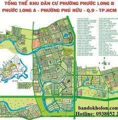 Bản đồ tổng thể Phước Long A – Phước Long B