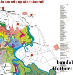 Bản đồ sơ đồ phân bố dự ánTPHCM