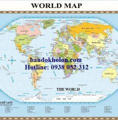 Bản đồ Thế Giới (Mẫu 1)