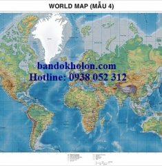 Bản đồ Thế Giới Mẫu 4