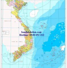 Bản đồ Việt Nam (Mẫu 3)