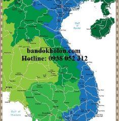 Bản đồ Việt Nam (Mẫu 6)