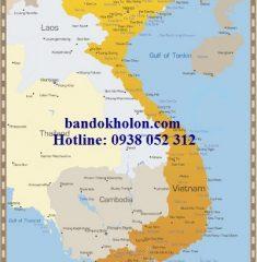Bản đồ Việt Nam Tiếng Anh
