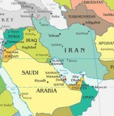 Bản đồ khổ lớn nước Ả Rập